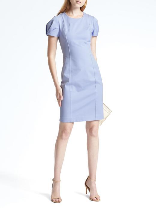 Kısa Kollu Streç Elbise