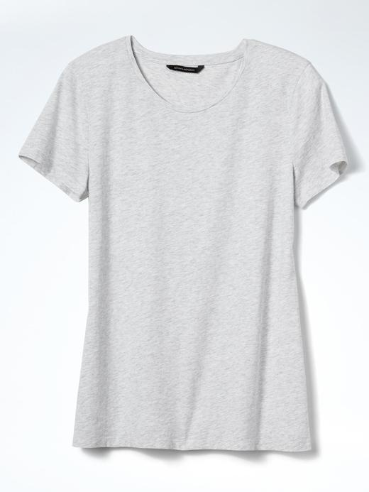 SUPIMA® Pamuklu Yuvarlak Yaka T-Shirt