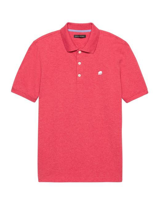 mercan Solid Pique Polo T-Shirt