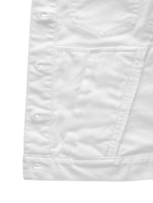 Stay White Beyaz Klasik Denim Ceket
