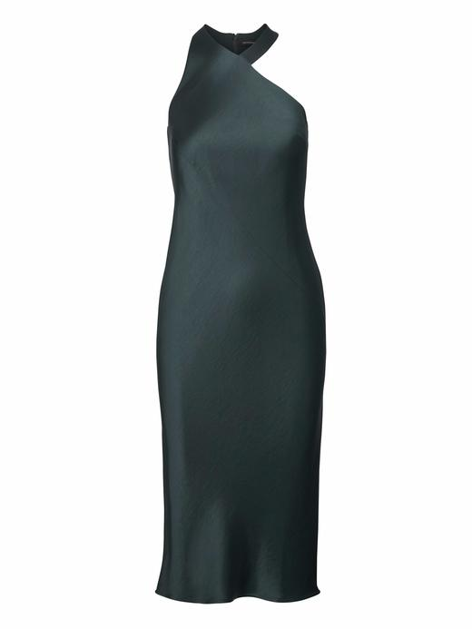 Kolsuz Saten Elbise