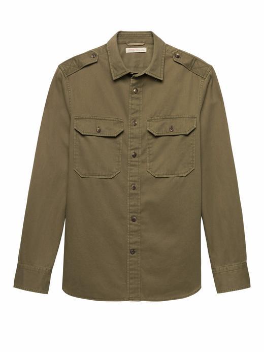 Heritage Camden Standard-Fit Gömlek Ceket