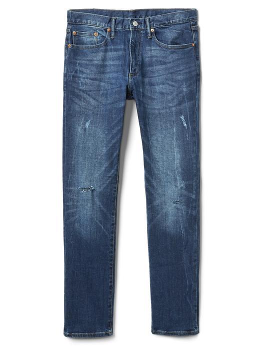 Slim fit jean streçli jean pantolon