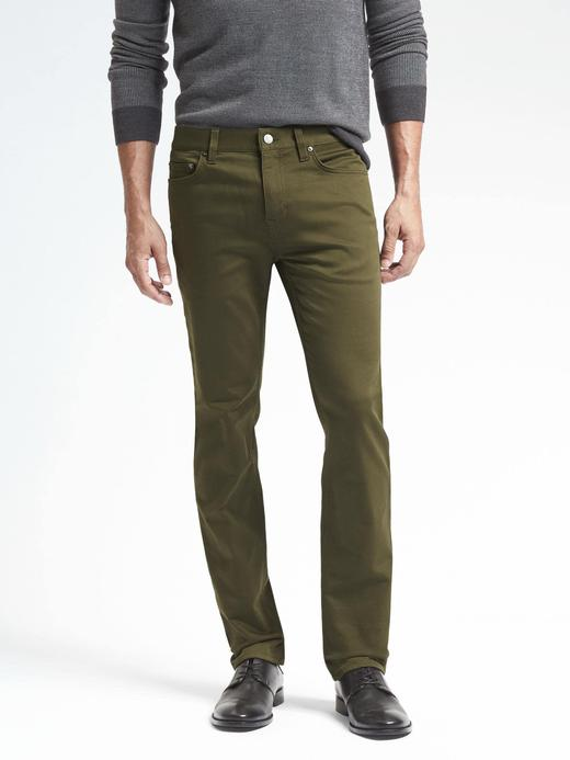 Slim Traveler Jean Pantolon