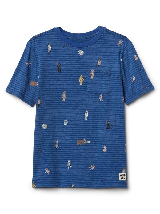 GapKids | Star Wars™ grafik desenli t-shirt