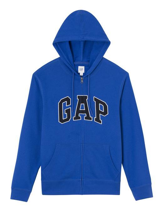 mavi Gap Logo Kapüşonlu Sweatshirt