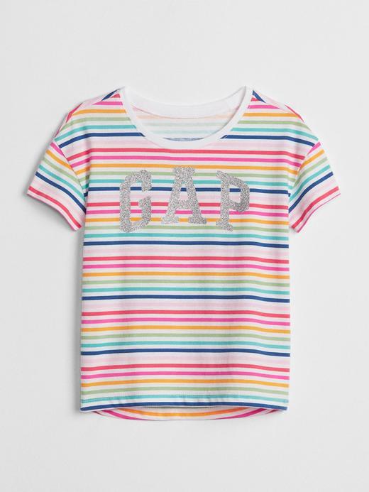 Logolu Desenli T-Shirt