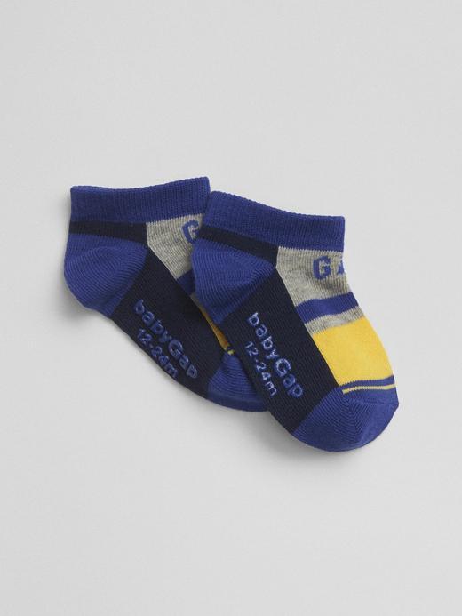 hardal Logolu renkli çorap