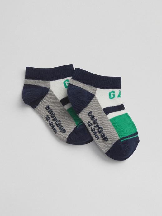 Logolu renkli çorap