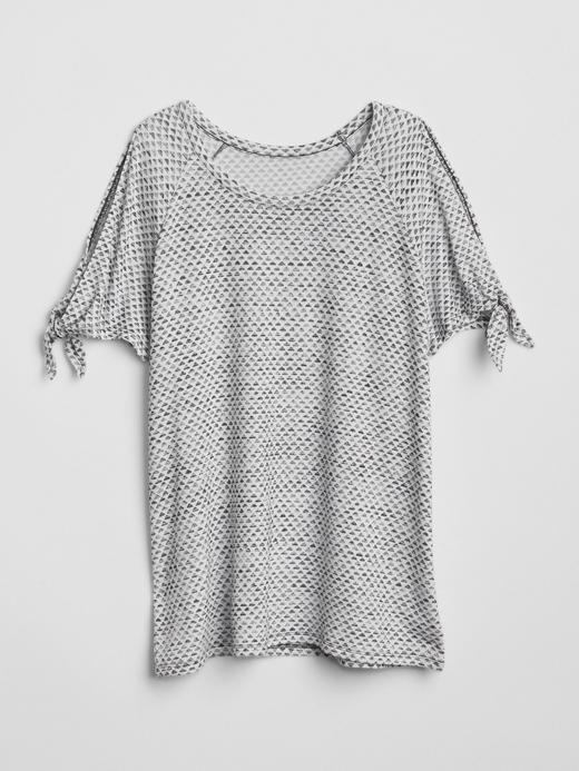 Softspun desenli t-shirt