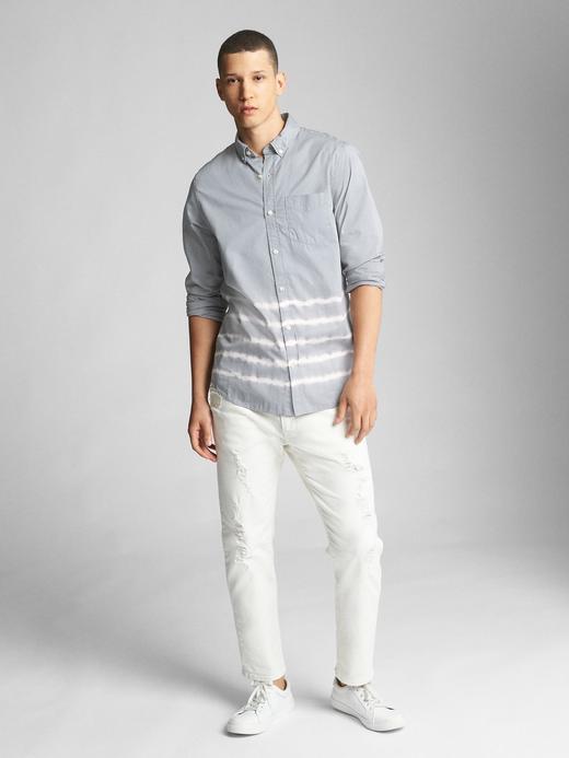 Standard fit poplin gömlek