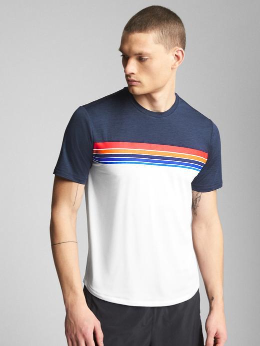 GapFit Desenli T-Shirt