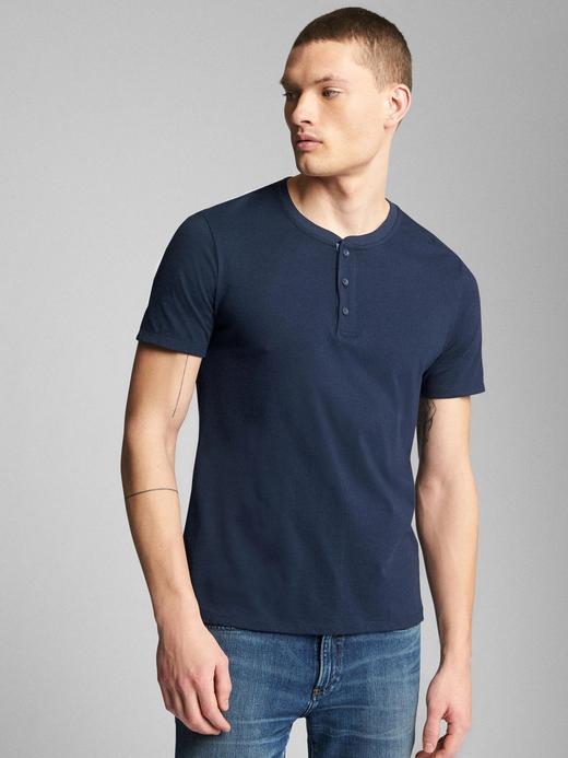 Erkek lacivert Kısa kollu t-shirt