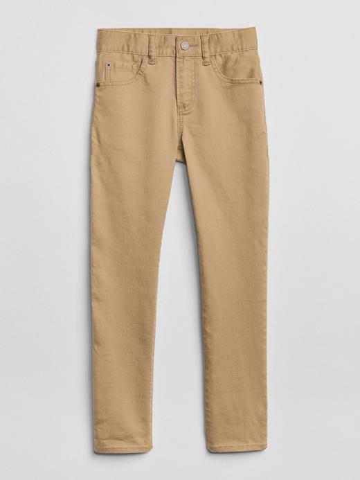 Erkek Çocuk Bej Wearlight Slim Jean Pantolon