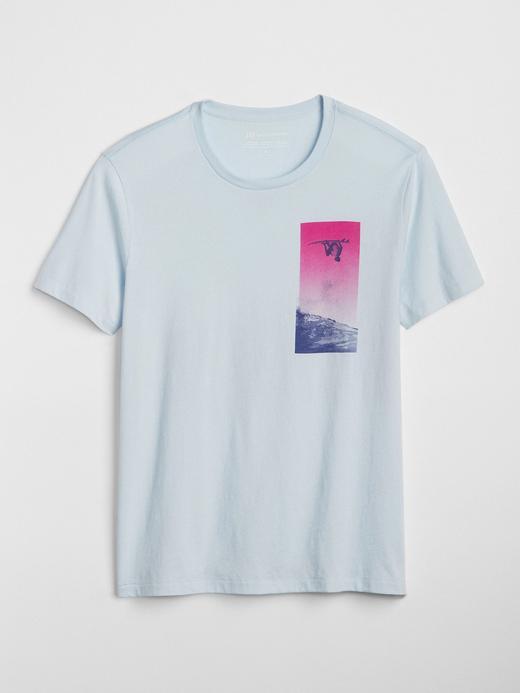 Gap | Brian Bielmann baskılı kısa kollu t-shirt