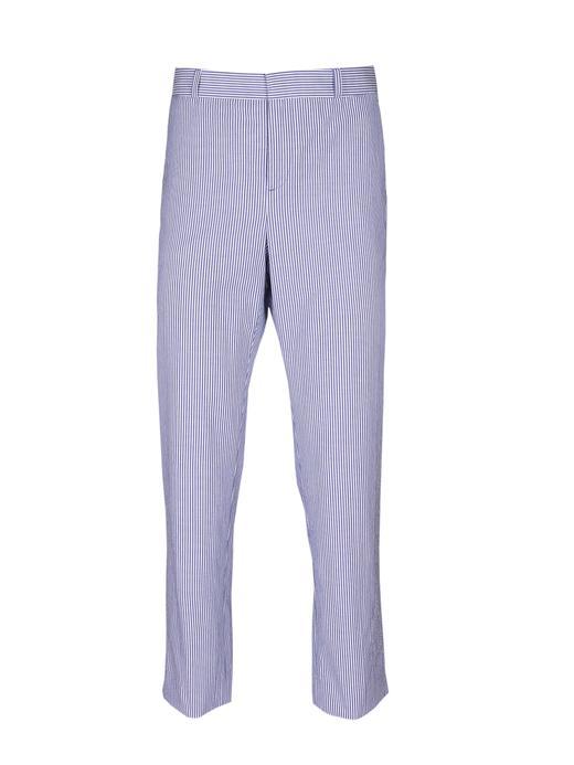 Avery Straight-Fit Çizgili Pantolon