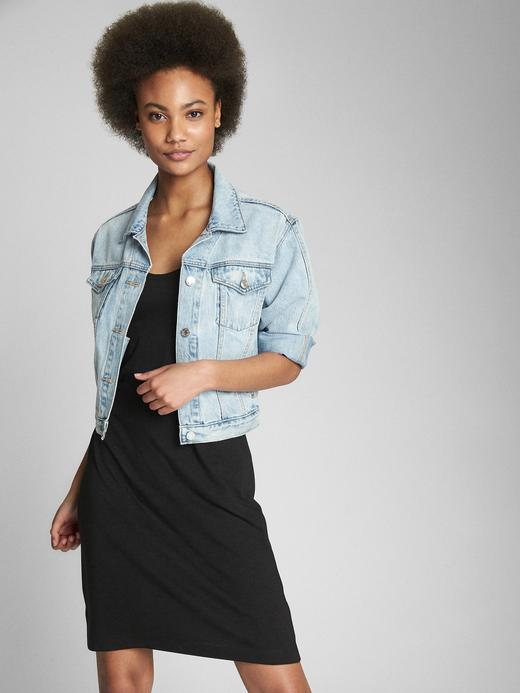 Pamuk ve Modal Karışımlı Askılı Elbise