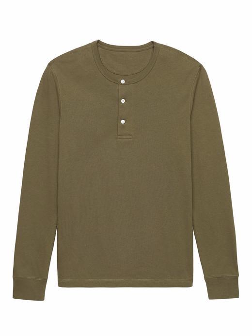 yeşil Heritage Uzun Kollu Sweatshirt