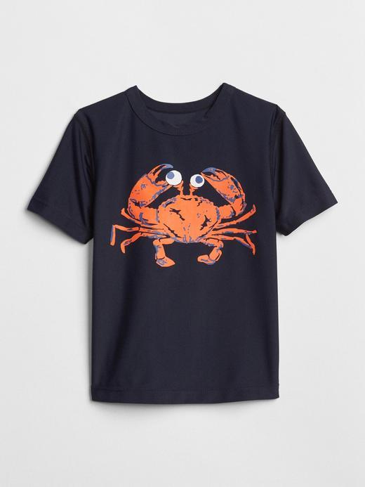Baskılı kısa kollu mayo t-shirt