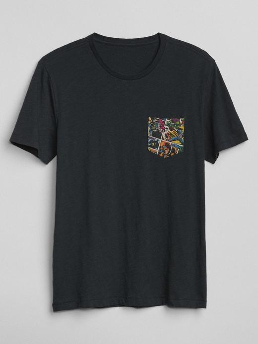 265643 Gap | Marvel© baskılı kısa kollu t-shirt