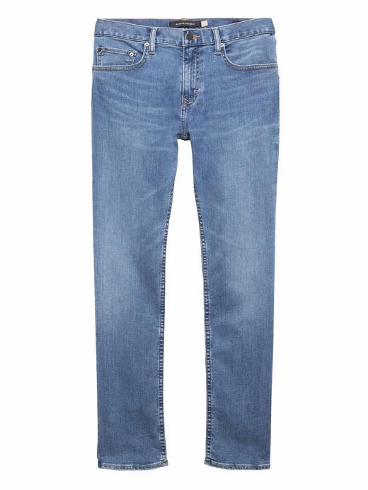 Slim Açık Yıkamalı Jean Pantolon
