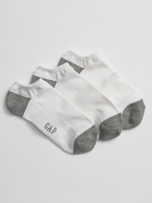Erkek beyaz 3'lü Çorap