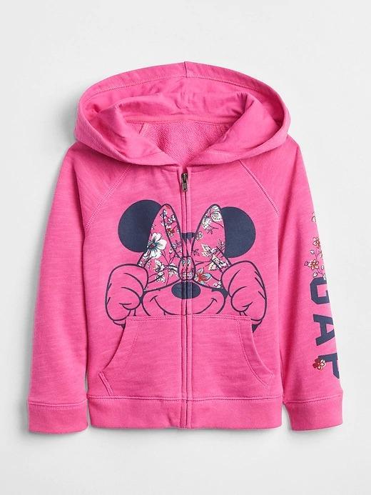 babyGap | Disney Minnie Mouse kapüşonlu sweatshirt