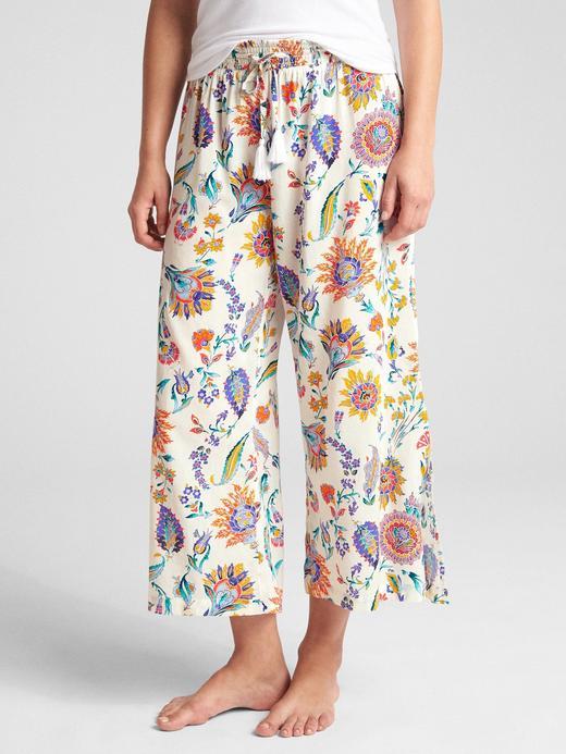 Dreamwell Desenli Bol Paça Pijama Altı