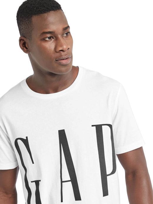 lacivert Logolu Sıfır Yaka T-Shirt