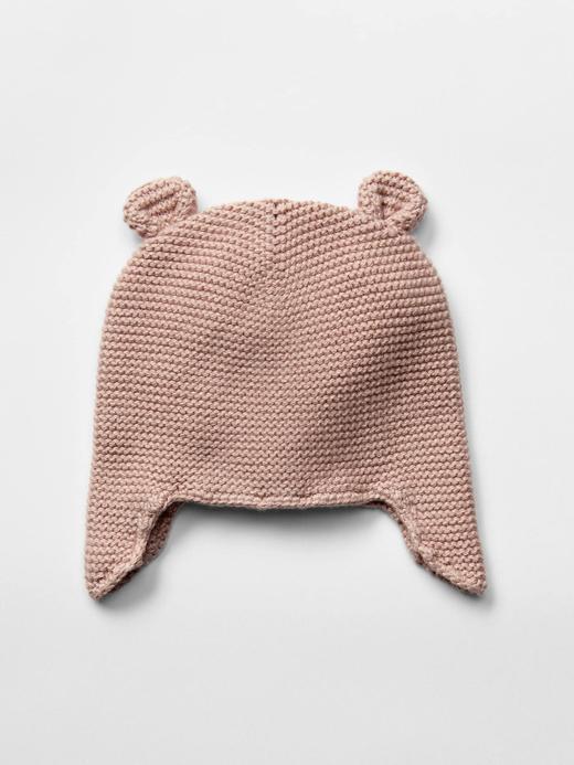Bebek açık pembe Ayıcık Şapka