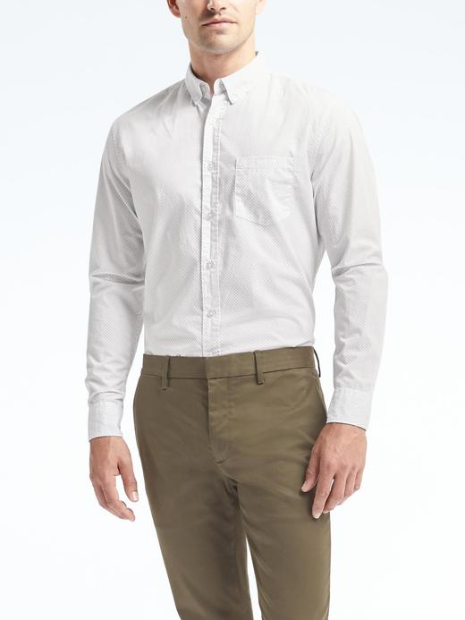 Grant Slim-Fit Desenli Gömlek