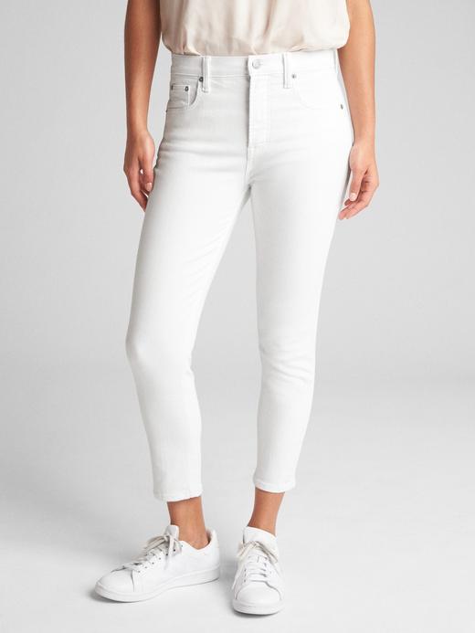 Super Yüksek Belli True Skinny Kısa Paça Pantolon
