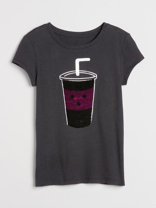 Pullu Baskılı T-Shirt