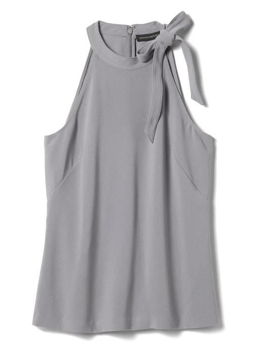 Kadın kırık beyaz Kolsuz Bluz