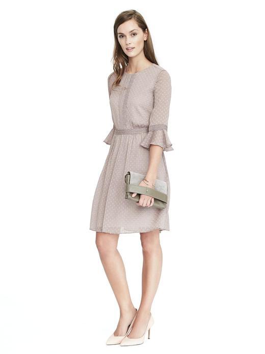 Kadın gri Fırfırlı Elbise