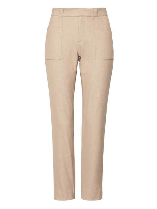 Kadın sütlü kahve Sloan Skinny-Fit Pantolon