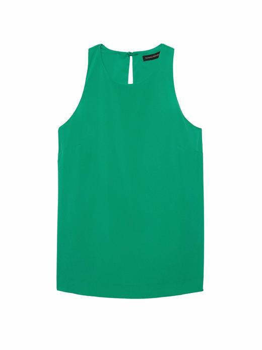 Kadın yeşil Kolsuz Bluz