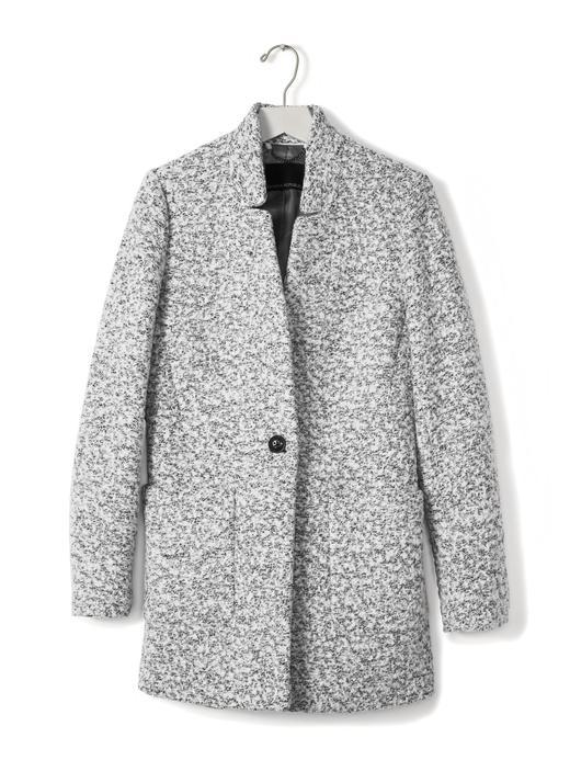 Kadın gri Hakim yaka ceket
