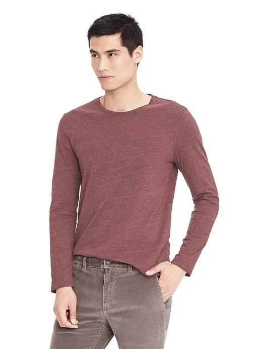 Soft-Wash uzun kollu t-shirt
