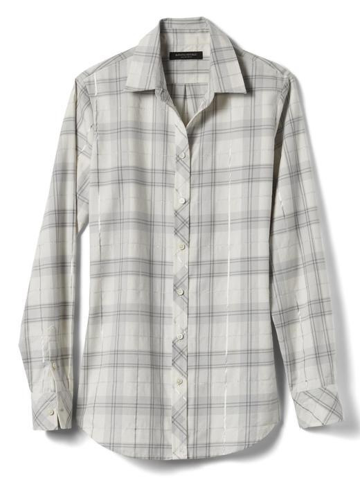 Kadın krem Dillon-Fit kışlık gömlek