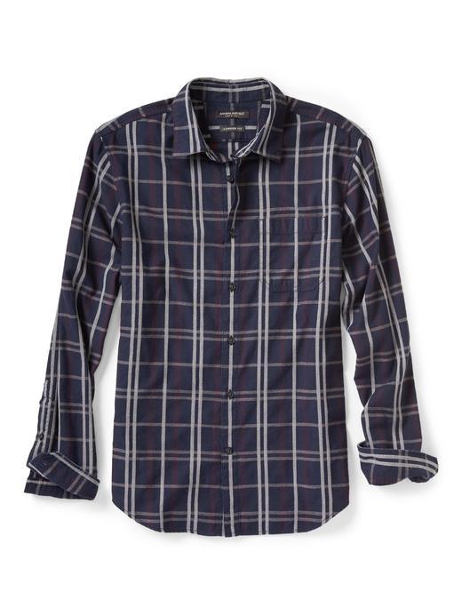 Camden-Fit ekoseli gömlek