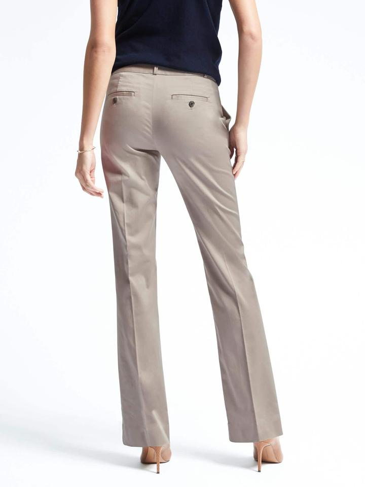 Kadın gri Logan-fit saten pantolon