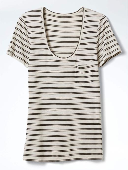 Kadın Beyaz Modal kayık yakalı t-shirt
