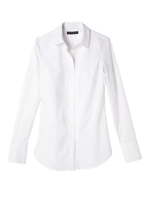 Riley Tailored-Fit Lekeye Dayanıklı Streçli Gömlek