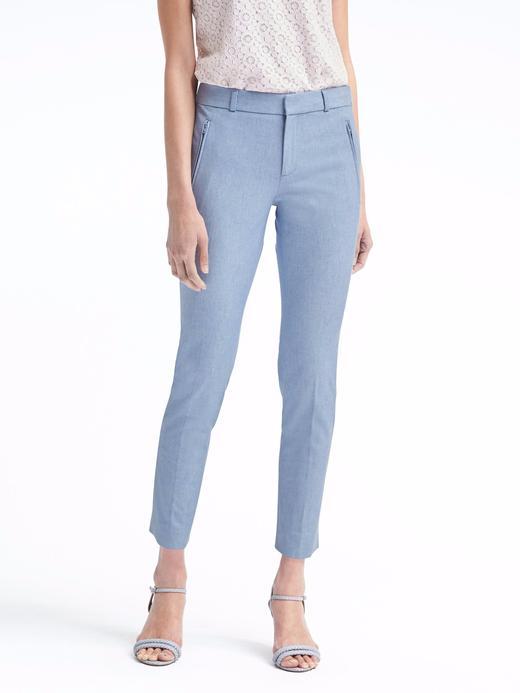 Kadın Mavi Sloan Skinny-Fit Streç Pantolon