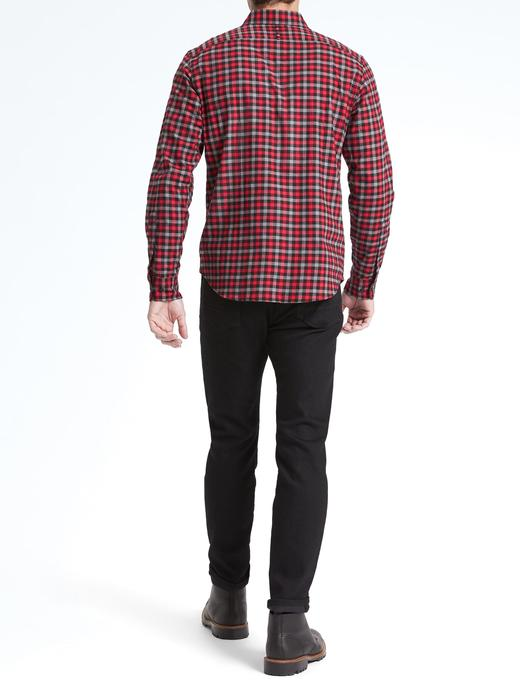Camden Standard-Fit Ekose Gömlek