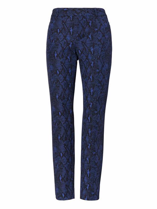 Sloan Skinny-Fit Desenli Pantolon