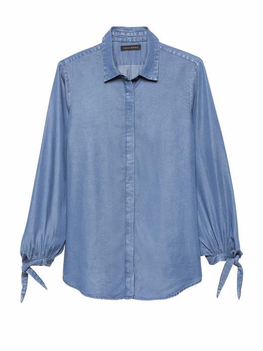 Dillon Classic-Fit Tencel™ Gömlek