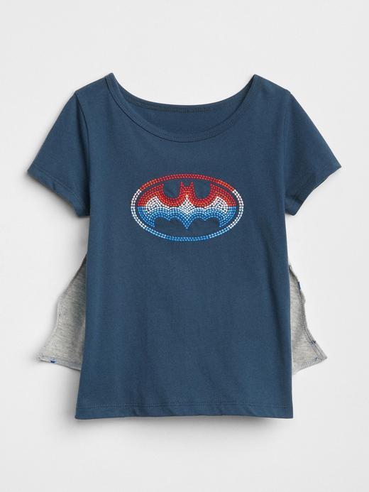 babyGap | DC™ çıkarılabilir pelerinli t-shirt