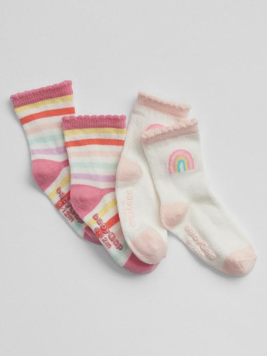 Gökkusağı 2'li çorap